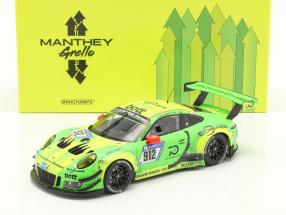Porsche 911 (991) GT3 R #912 Winner 24h Nürburgring 2018 Manthey Grello 1:18 Minichamps