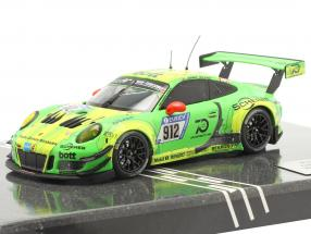 Porsche 911 (991) GT3 R #912 Winner 24h Nürburgring 2018 Manthey Grello 1:43 Minichamps