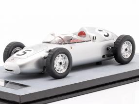 Hans Herrmann Porsche 718/2 #5 2nd Solitude GP formula 2 1960