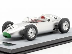 Graham Hill Porsche 718/2 #6 4th Solitude GP formula 2 1960
