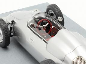 Porsche 718 F2 Press version 1960 silver