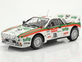 Lancia 037 Rally #18 5th Rallye SanRemo 1983 Biasion, Siviero 1:18 Kyosho