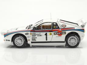 Lancia 037 Rally #1 winner Rallye Monte Carlo 1983 Röhrl, Geistdörfer