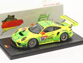 Porsche 911 GT3 R #911 2nd 24h Nürburgring 2019 Manthey Racing 1:43 Spark