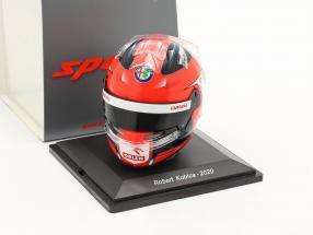Robert Kubica #88 Alfa Romeo Racing Orlen formula 1 2020 helmet 1:5 Spark