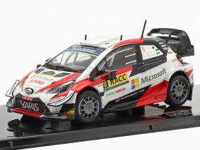 Toyota Yaris WRC #8 2nd Rallye Catalunya World Champion 2019 Tänak, Järveoja