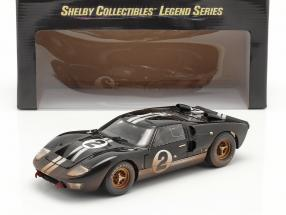 Ford GT40 MK II #2 Winner 24h LeMans 1966 Dirty Version 1:18 ShelbyCollectibles