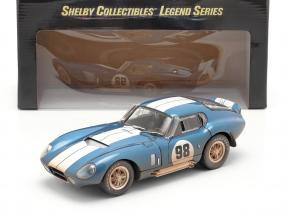 Shelby Cobra Daytona Coupe #98 1965 Dirty Version 1:18 ShelbyCollectibles