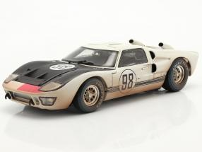Ford GT40 MK II #98 Winner 24h Daytona 1966 Dirty Version 1:18 ShelbyCollectibles