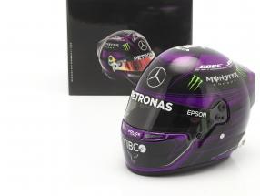L. Hamilton #44 Mercedes-AMG Petronas formula 1 World Champion 2020 helmet 1:2 Bell