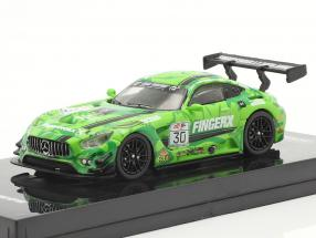 Mercedes-Benz AMG GT3 #30 eRacing season 1 HongKong GP 1:64 Tarmac Works