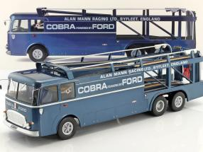 Fiat Bartoletti 306/2 Shelby Cobra Racing transporter Alan Mann Racing Ltd 1:18 Norev / 2nd choice