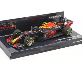 Max Verstappen Red Bull Racing RB16 #33 3rd Styrian GP F1 2020 1:43 Minichamps