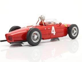 Set: Ferrari 156 Sharknose #4 Winner British GP 1961 with driver figure
