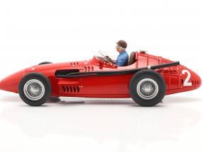Set: Maserati 250F #2 French GP World Champion F1 1957 with driver figure