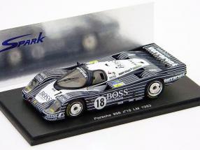 Porsche 956L 24h LeMans 1983 Hugo Boss 1:43 Spark / 2nd choice