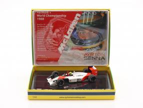 Ayrton Senna McLaren MP4/4 #12 World Champion Japan GP F1 1988 1:43 Minichamps / 2nd choice