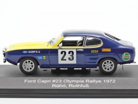 Ford Capri 2600 #23 Olympia-Rallye ERC 1972 Röhrl, Rothfuß