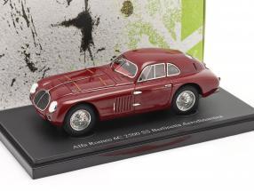 Alfa Romeo 6C 2500 SS Berlinetta Aerodinamica 1939 dark red 1:43 AutoCult