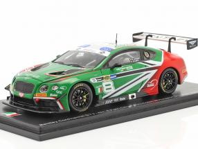 Bentley Continental GT3 #8 Italian GT Championship 2018 1:43 Spark