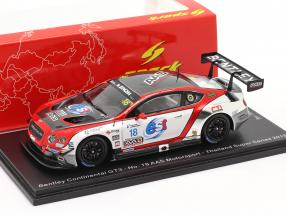 Bentley Continental GT3 #18 Thailand Super Series 2018 1:43 Spark