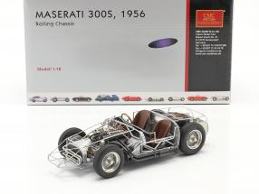Maserati 300S 24h LeMans 1956 rolling chassis 1:18 CMC