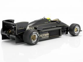 Ayrton Senna Lotus 97T #12 winner Portuguese GP formula 1 1985