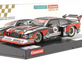 Digital 124 SlotCar Ford Capri Zakspeed Turbo #1 Zakspeed Team 1:24 Carrera
