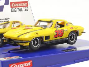 Digital 132 SlotCar Chevrolet Corvette Sting Ray #35 1:32 Carrera