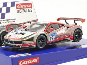 Digital 132 SlotCar Ferrari 488 GT3 #22 WTM Racing 1:32 Carrera