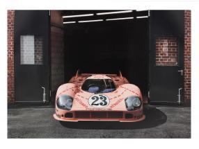 Poster-Set Porsche 917 Pink Pig 50 x 70 cm