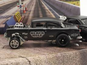 4-Car Set Black Hole Gassers mat dark grey