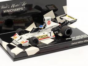 Carlos Reutemann Brabham-Ford BT44 #7 Belgium GP formula 1 1974 1:43 Minichamps