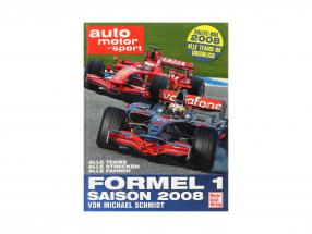Book: formula 1 season 2008 by Michael Schmidt