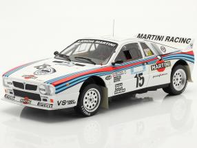 Lancia 037 Rally #15 5th Rallye Akropolis 1983 Bettega, Perissinot 1:18 Ixo