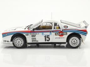 Lancia 037 Rally #15 5th Rallye Acropolis 1983 Bettega, Perissinot