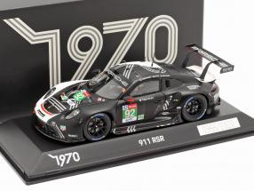 Porsche 911 RSR #92 24h LeMans 2020 Christensen, Estre, Vanthoor 1:43 Spark