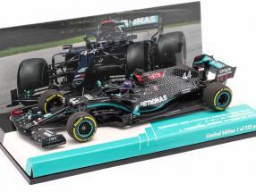L. Hamilton Mercedes-AMG F1 W11 #44 Winner Styrian GP formula 1 World Champion 2020 1:43 Minichamps