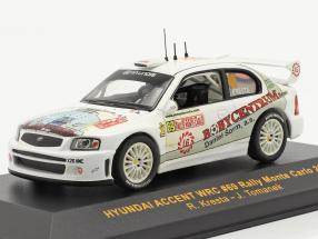 Hyundai Accent WRC #69 rally Monte Carlo 2004 Kresta, Tomanek 1:43 Ixo