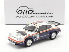 Porsche 911 SC RS #5 Winner Rallye Costa Smeralda 1984 Rothmans 1:18 OttOmobile