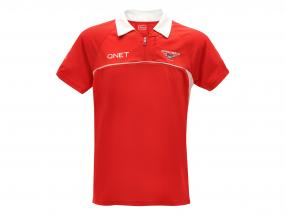 Bianchi / Chilton Marussia Team Polo Shirt formula 1 2013 red / white size 3XL