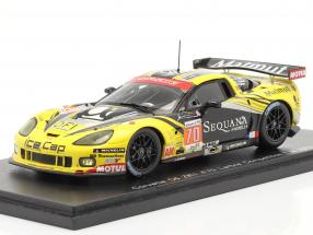 Chevrolet Corvette C6.R ZR1 #70 24h LeMans 2012 Larbre Competition 1:43 Spark
