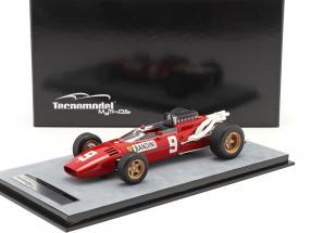 Lorenzo Bandini Ferrari 312/66 #9 German GP formula 1 1966 1:18 Tecnomodel