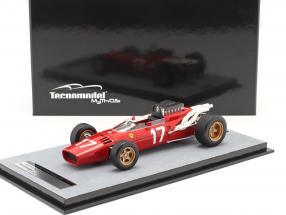 John Surtees Ferrari 312/66 #17 Monaco GP formula 1 1966 1:18 Tecnomodel