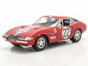 Ferrari 365 GTB4 Competizione #22 red 1:24 Bburago