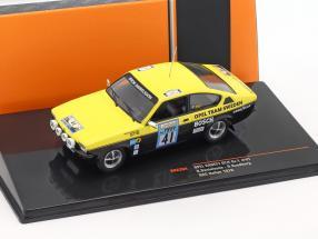 Opel Kadett GT/E Gr.1 #41 Lombard RAC rally 1976 Danielsson, Sundberg   / 2nd choice