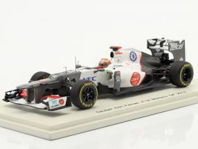 K. Kobayashi Sauber C31 #14 Monaco GP formula 1 2012 1:43 Spark