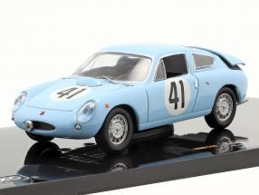 Abarth Simca 1300 #41 R. Lange Neste, J. Rolland 24h LeMans 1962 1:43 Ixo