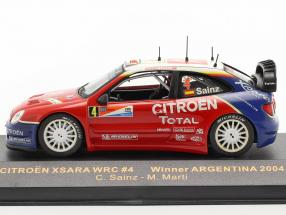 Citroen Xsara WRC #4 winner rally Argentina 2004