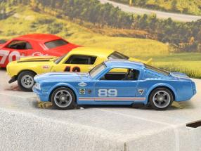 4-Car Set Going to the races: Flatbed Truck with 3 race cars